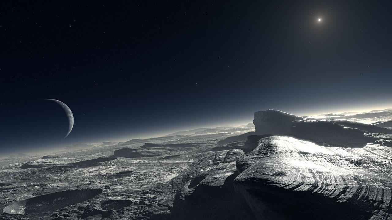 Pluto (artist's impression)