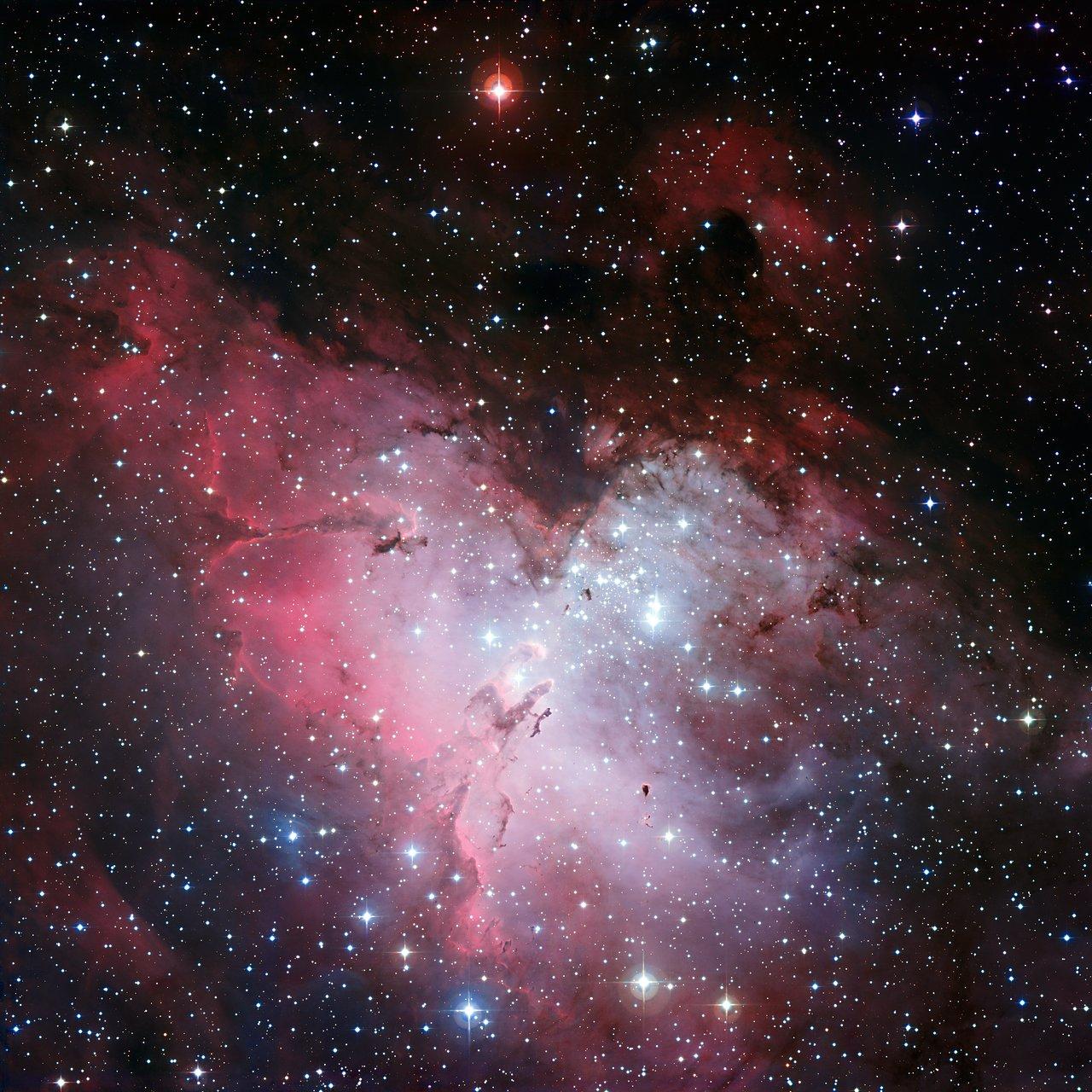 Mounted image 137: The Eagle Nebula and the Pillars of Creation