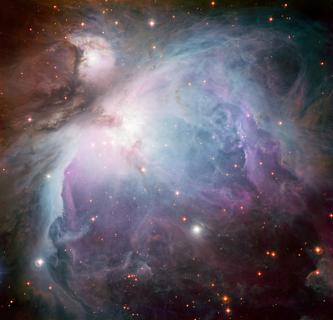 Mounted image 125: The Orion Nebula