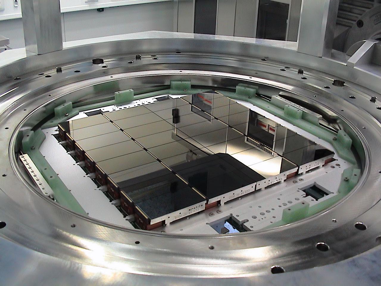 The detectors of OmegaCAM