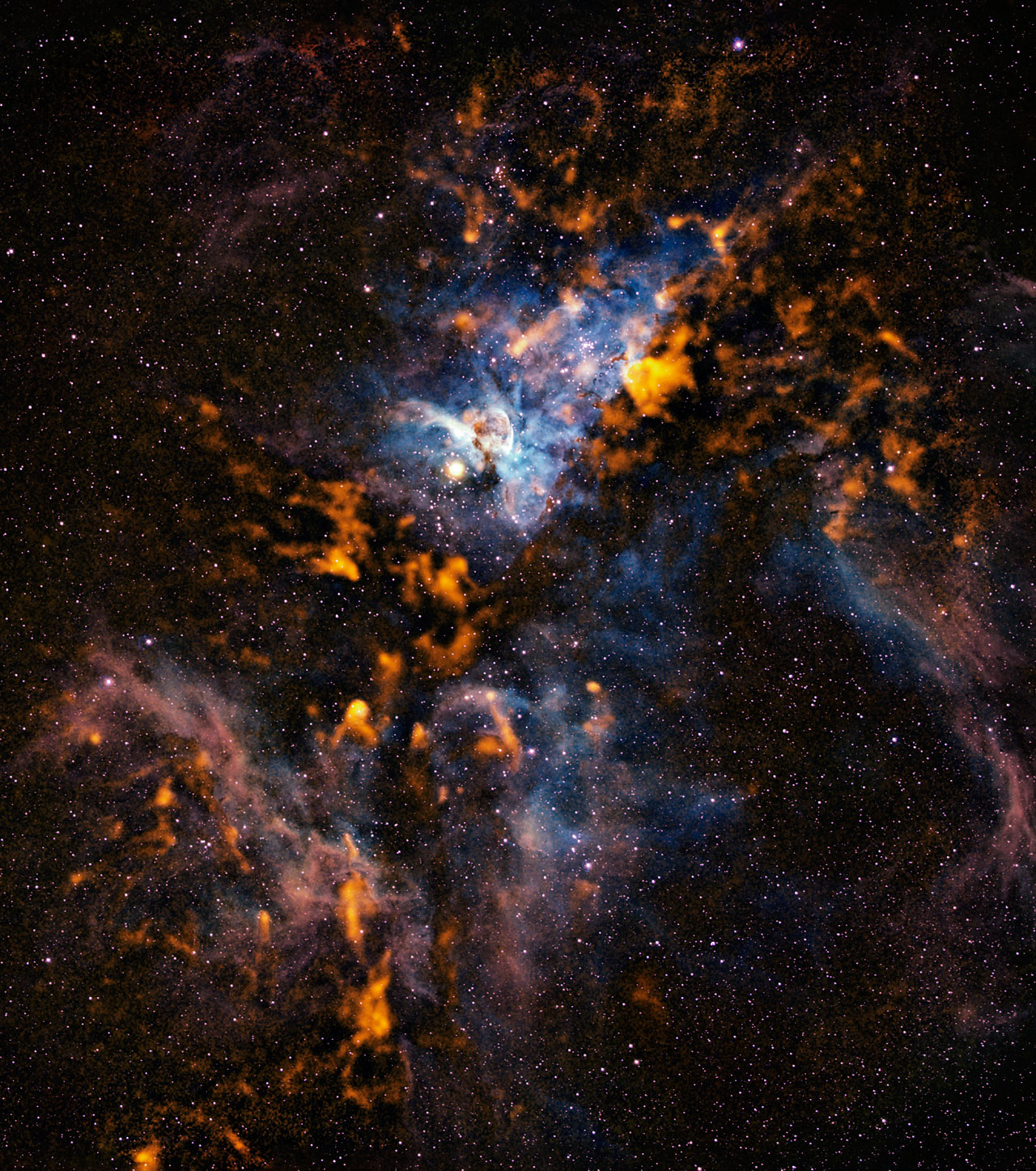 Mounted image 149: The Cool Clouds of Carina