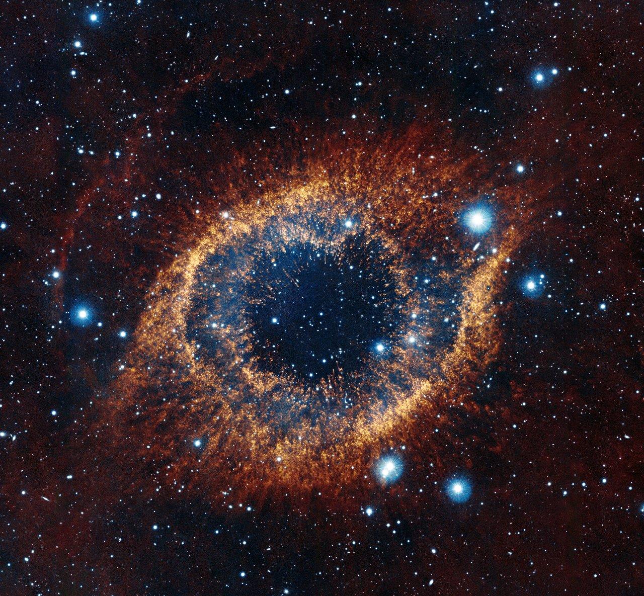 Helix Nebula (infrared)