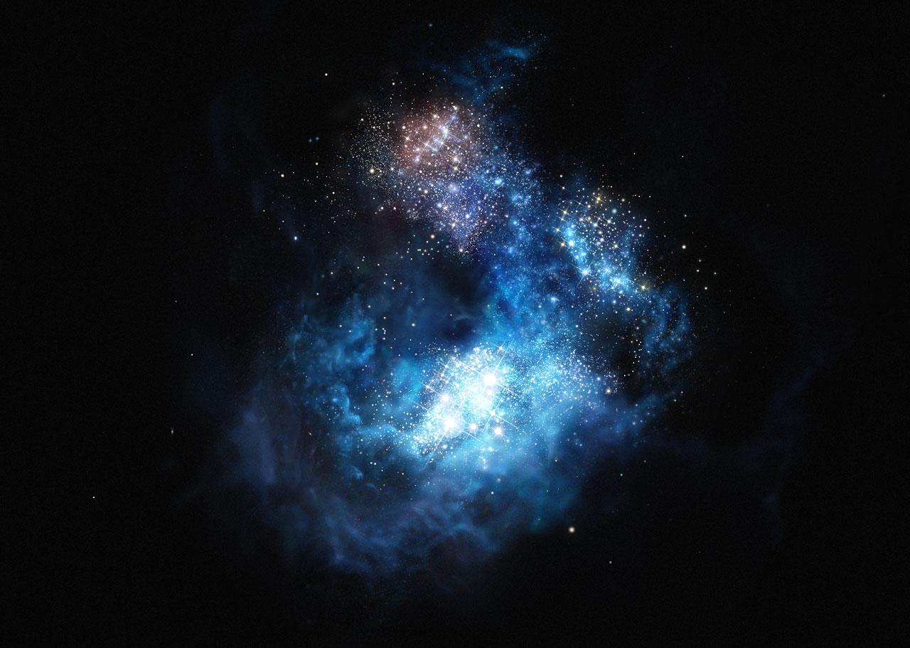 Resultado de imagen de Las primeras estrellas del Universo