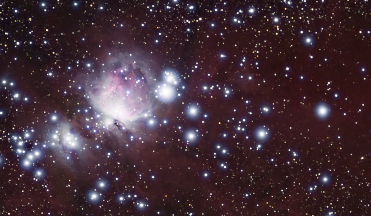 Orion Molecular Cloud in visible light (for comparison)