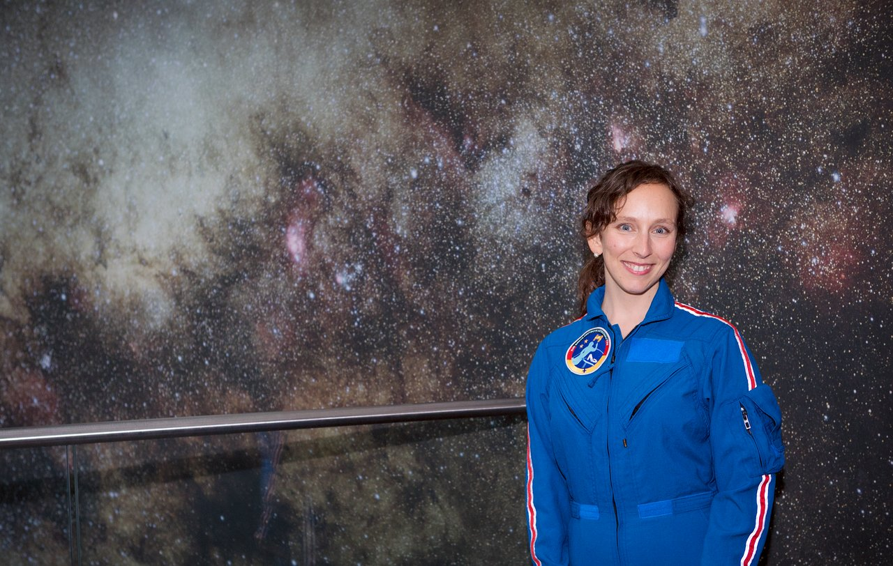 ESO ALMA support astronomer Suzanna Randall, who has been selected for astronaut training. Credit: ESO/M.Zamani.