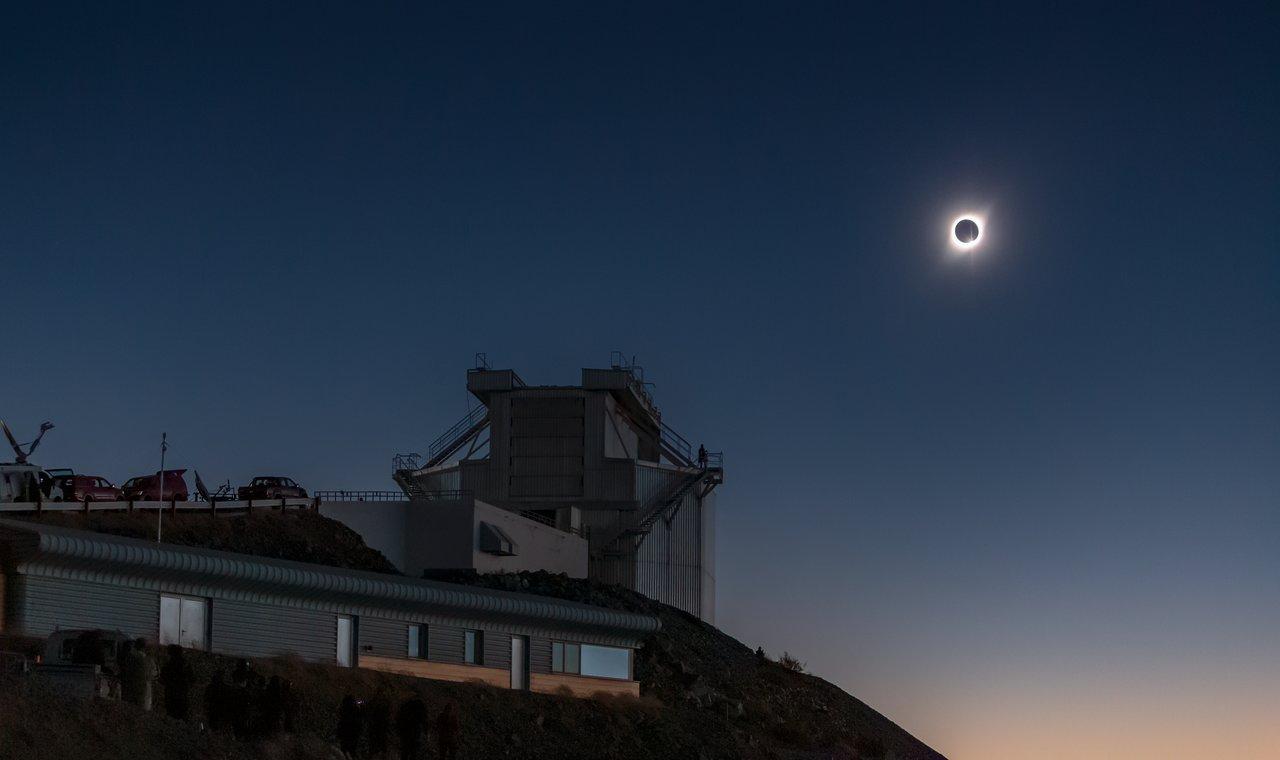 Eclipse total solar, Observatorio La Silla, 2019