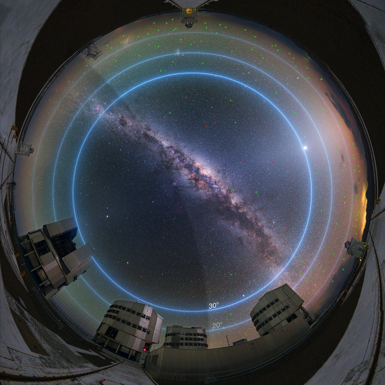 New ESO Study Evaluates Impact of Satellite Constellations on Astronomical Observations