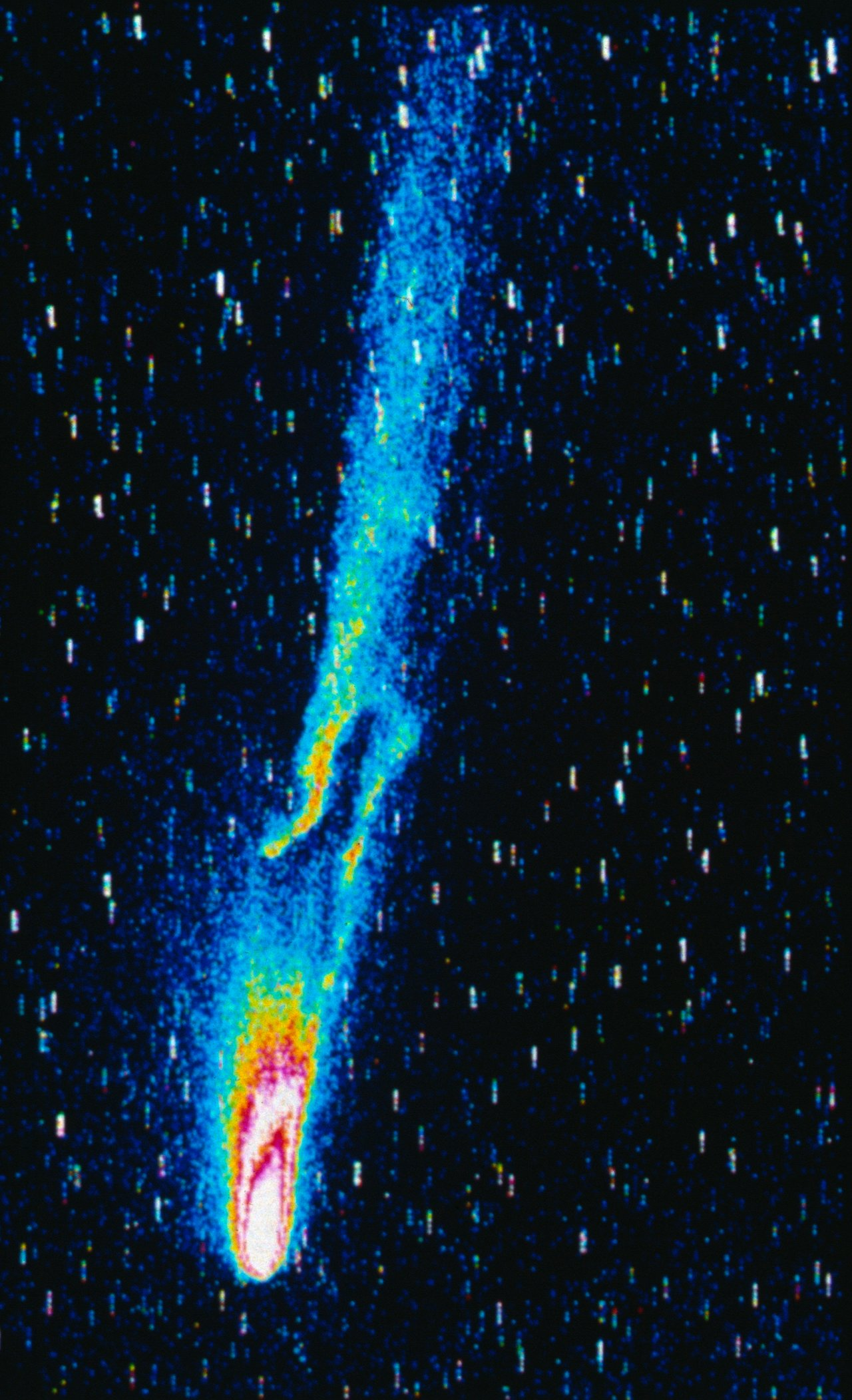 Comet Halley S Tails Eso