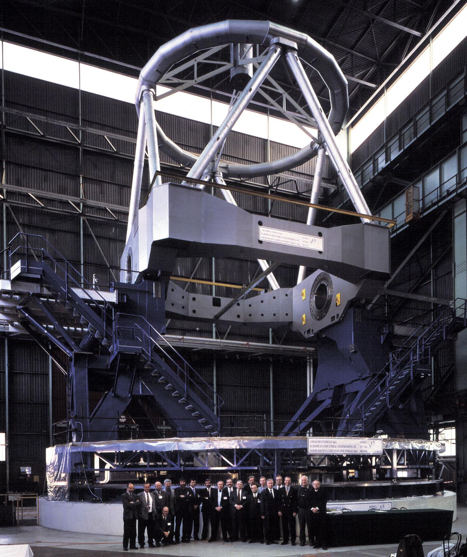 ESO Council visits VLT construction