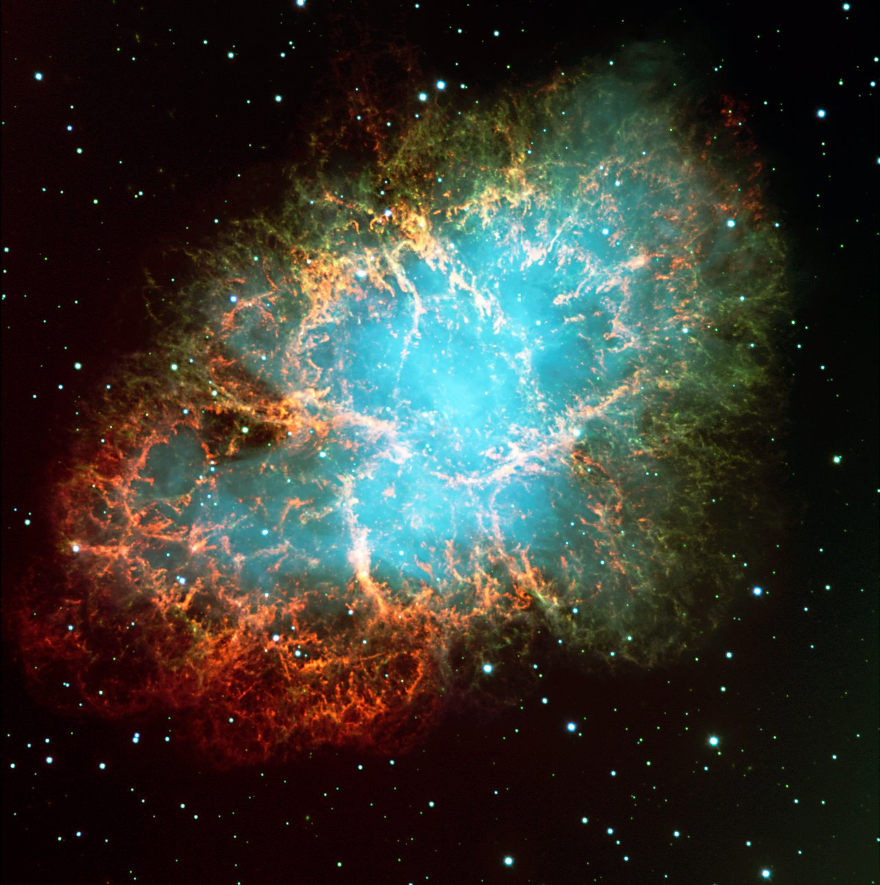 Mounted image 153: The Crab Nebula in Taurus
