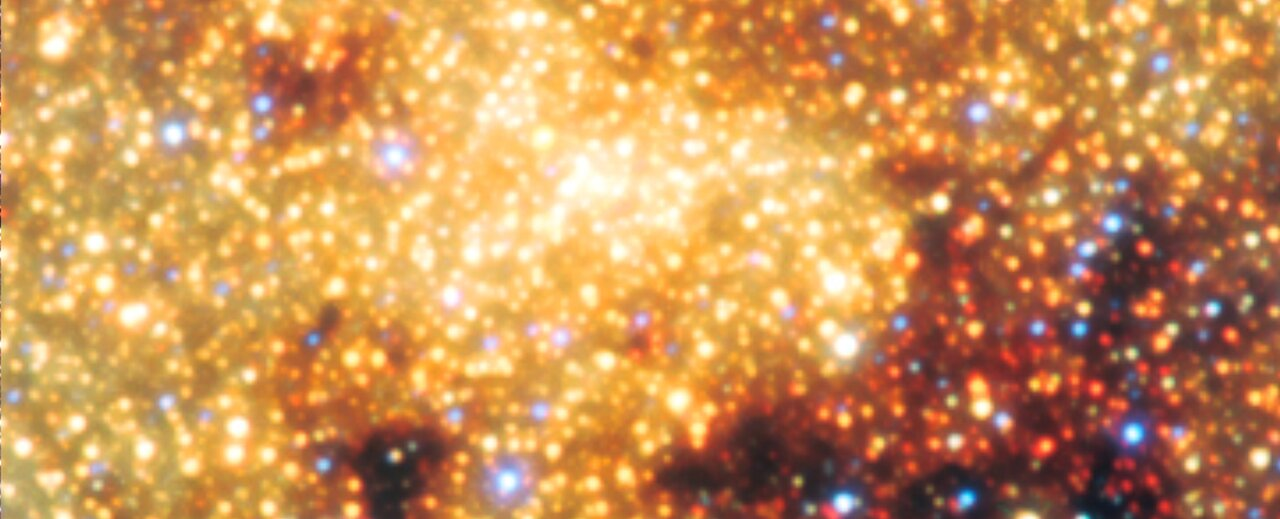 View of the galactic centre