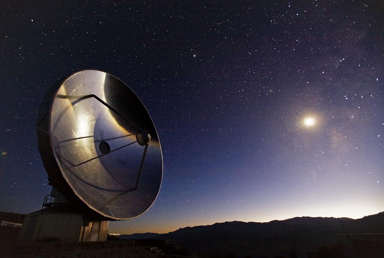 Telescope at La Silla Observatory