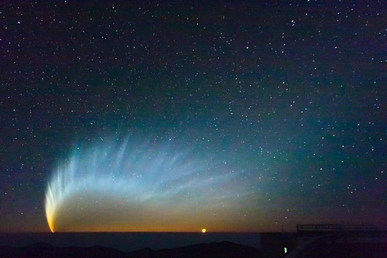 Comet Mcnaught Eso