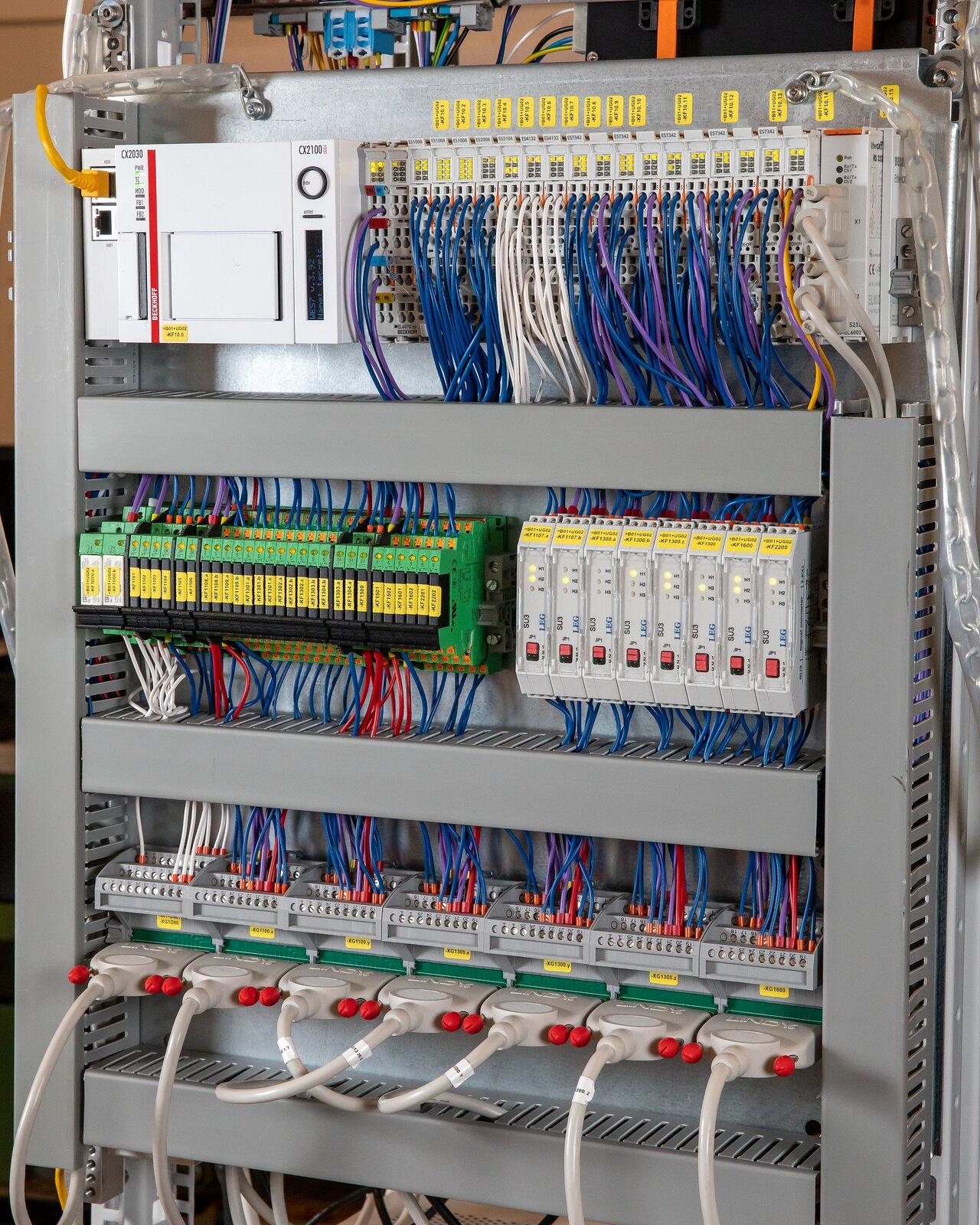 MELT control modules