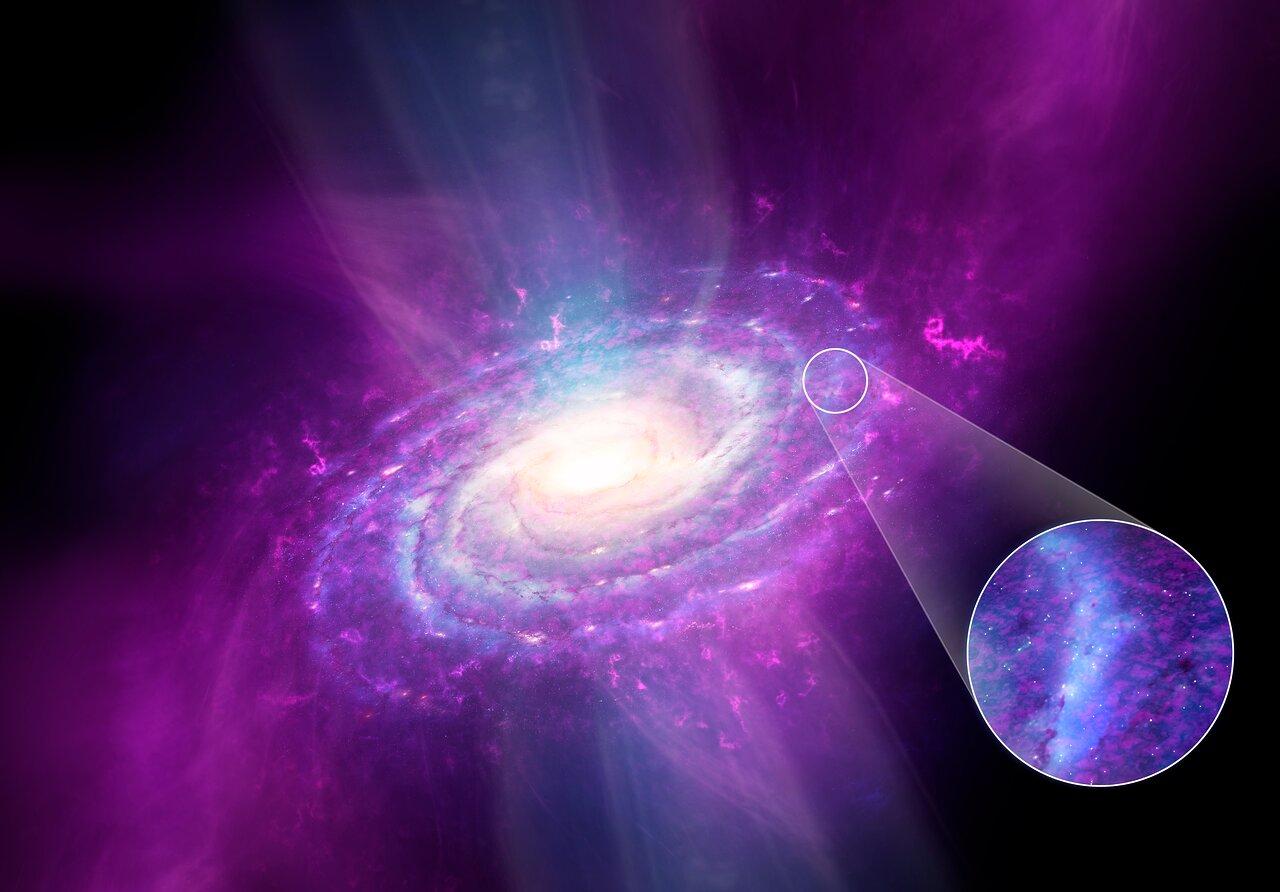 ESOblog: Our Milky Way? Not well stirred!