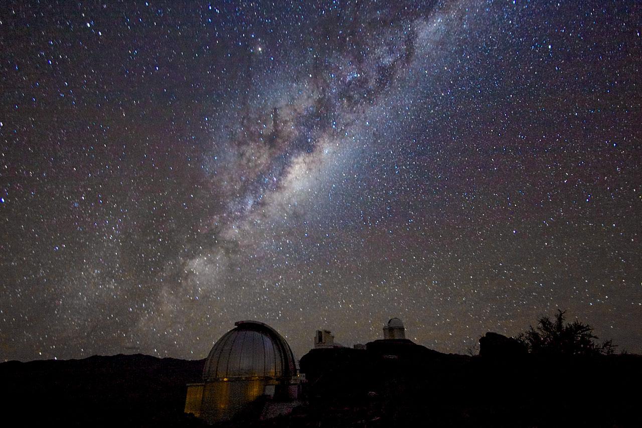 Milky Way From La Silla Eso