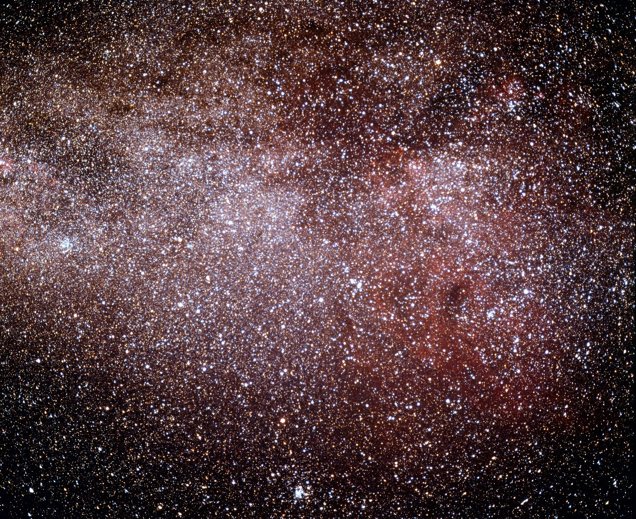The Gum Nebula in the Milky Way | ESO