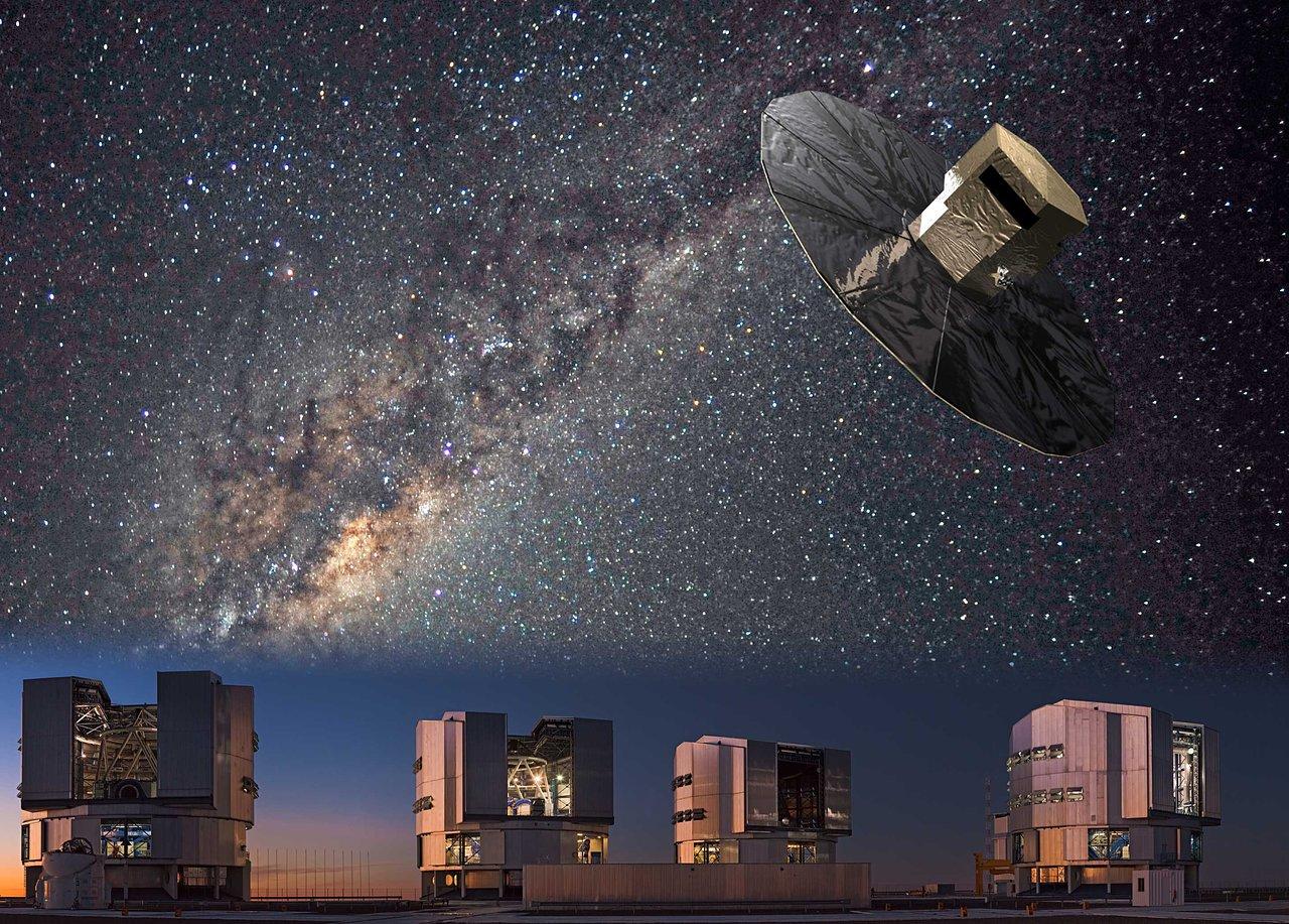 Artist's impression of the Gaia-ESO Survey