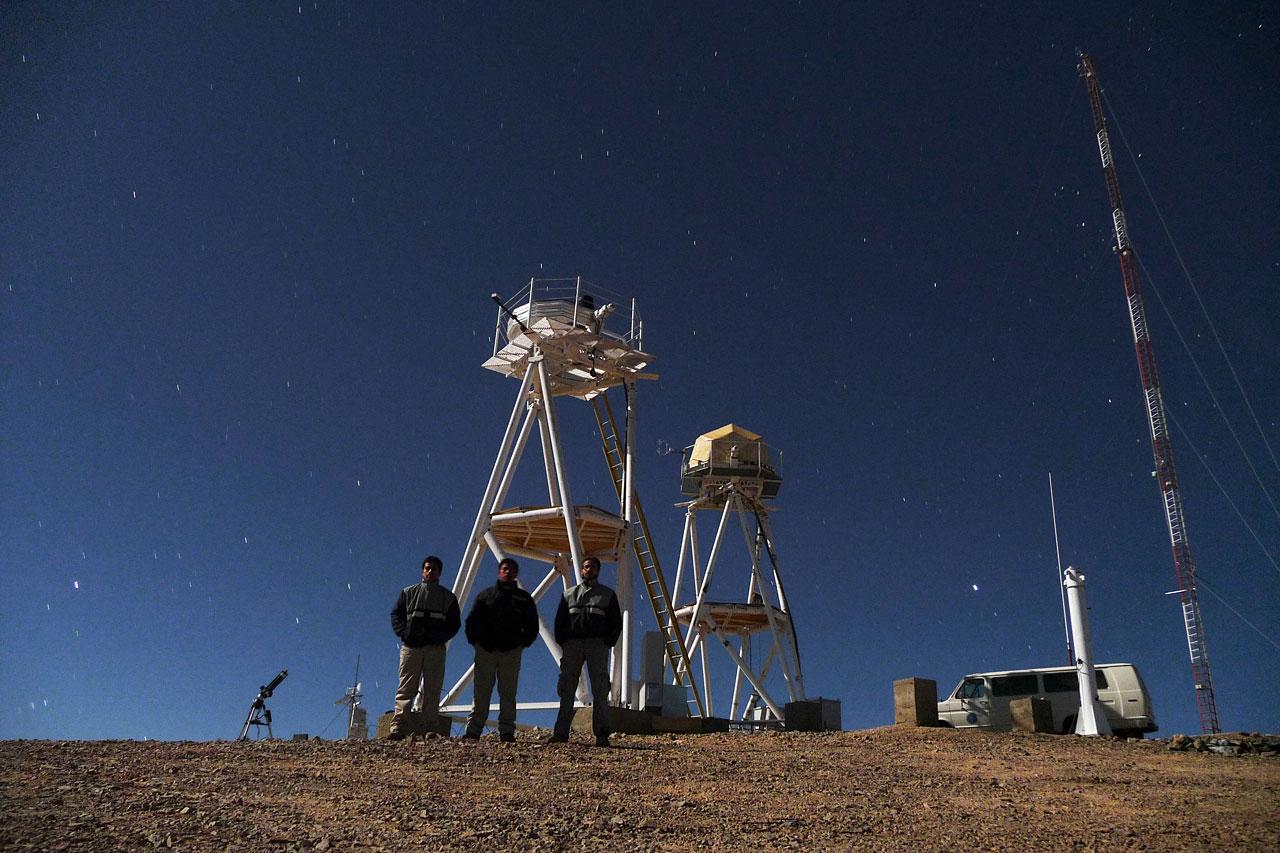 ELT site testing — Cerro Armazones / Chile