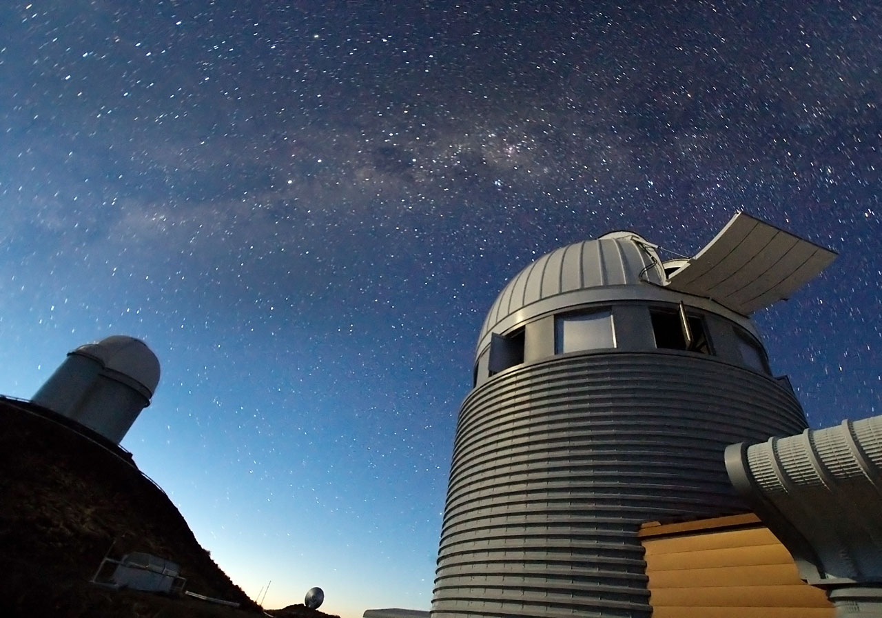 Mounted image 109: Exoplanet Hunters at La Silla