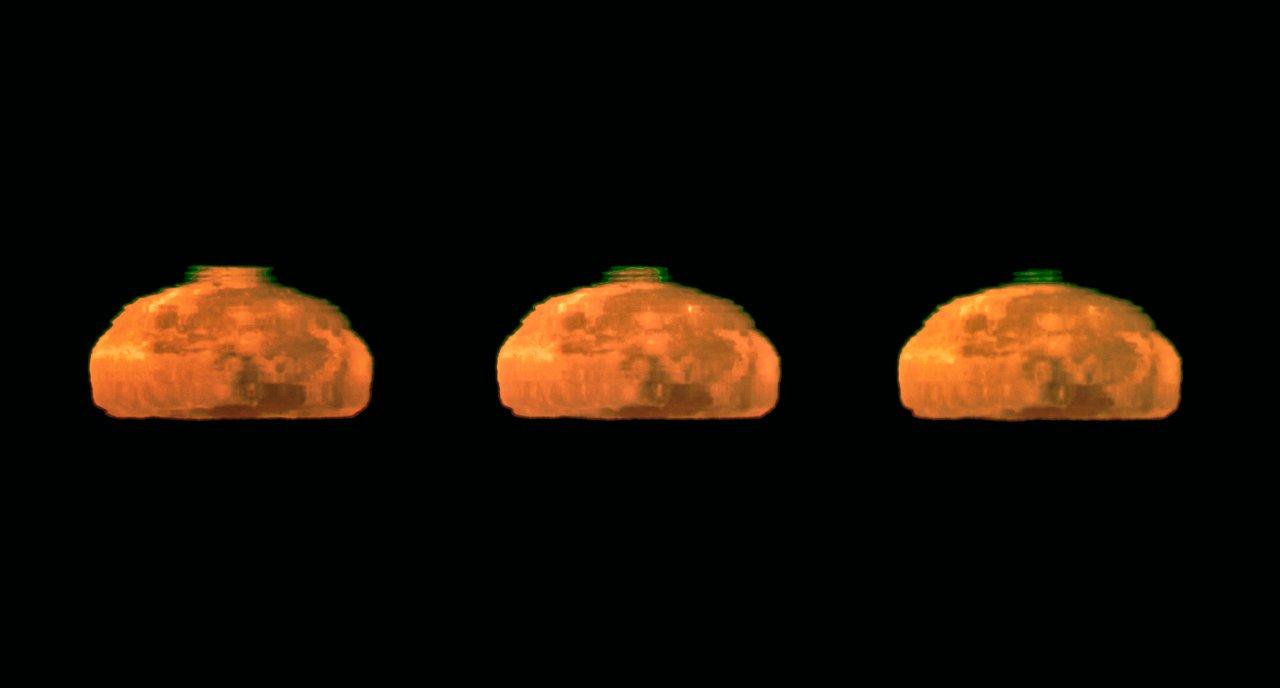 Captado un Excepcional Rayo Verde de la Luna