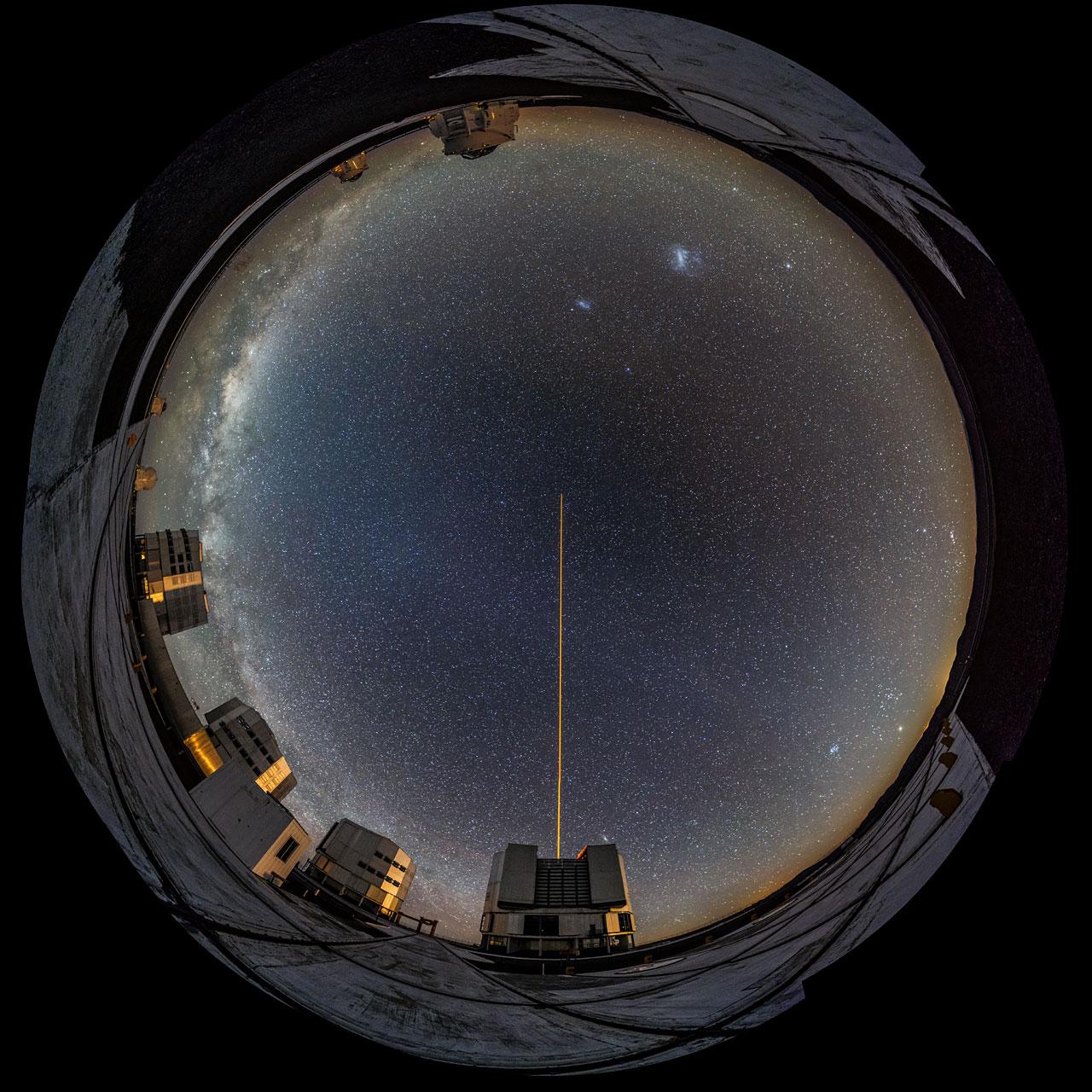 Вид с телескопа фото