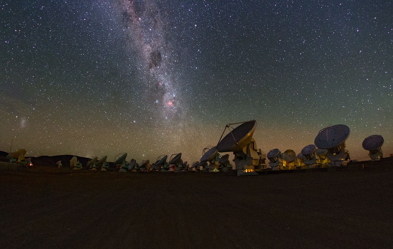 Milky Way over ALMA