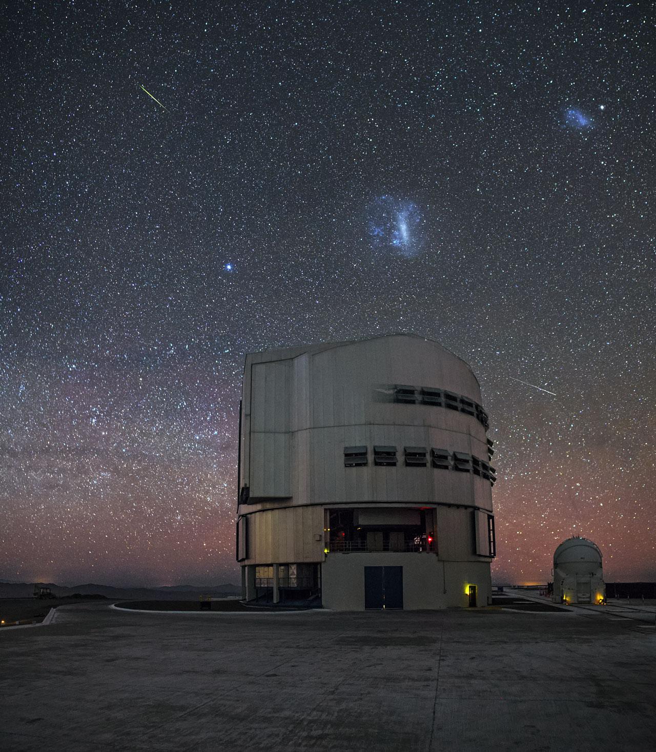 A buzz of celestial activity