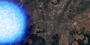 Neutron star over Munich