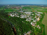 Aerial view of the Garching Campus