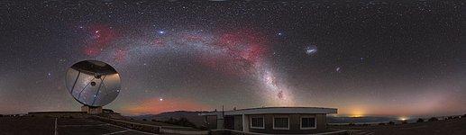 A comet across the Zodiac