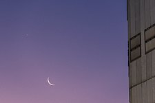 Venus, Mars and the Moon beyond the VLT