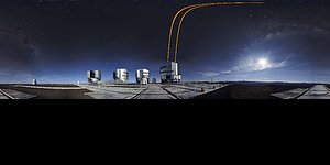 Extended panoramic Adaptive Optics