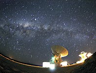 Milky Way above ALMA