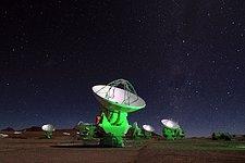 Antennae in the Night