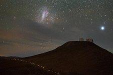 Magellanic Cloud over Paranal