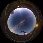 Dawn at La Silla — fisheye