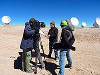 Filming Near ALMA