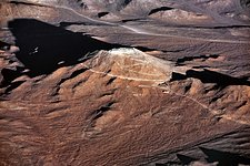 Cerro Armazones casts a long shadow