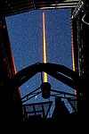 The Laser Guide Star of Paranal in operation