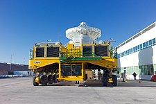 ALMA antenna on a Lore transporter