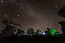 Green light at ALMA