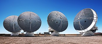 The phases of the ALMA antennas
