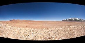 The Large, Flat Chajnantor Plateau