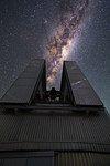 NTT swallows the Milky Way