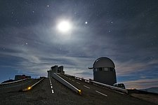 La Silla in moonlight
