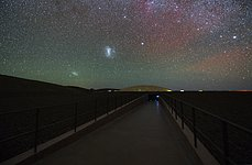 Magellanic Clouds at Paranal
