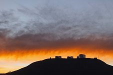 Clouds over Paranal