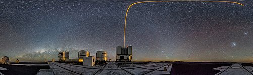 PARLA laser at the VLT