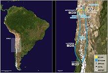 ESO sites in Chile